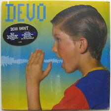 DEVO Shout 1984 US ORG SEALED LP Mothersbaugh JIMI HENDRIX