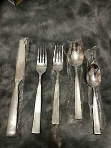 Cuisinart Stainless Steel 5 Piece Flatware Julienne Place Setting For 1