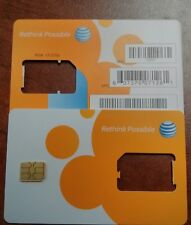AT&T PREPAID GO PHONE 3G/4G NANO SIM CARD READY ACTIVATE, SKU 73057/40952
