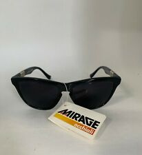 Mirage Comfort Occhiali Black Sunglasses 57mm Made In Italy