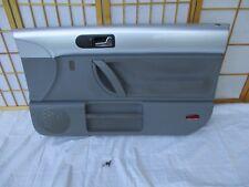 98-10 VW Volkswagen Beetle SILVER & GRAY Right SERRATED CLOTH Power Door Panel