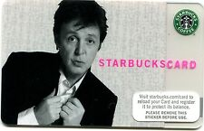 2007 UNUSED Paul McCartney Limited Edition Starbucks Card