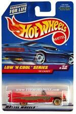 1998 Hot Wheels #699 Low 'N Cool Series #3 '59 Caddy (blue car card)