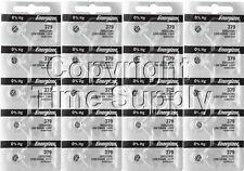 Energizer 379 Watch Batteries SR521SW SR521 0%HG ( 20 PC )