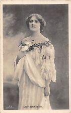 POSTCARD  ACTRESSES    LILY  BRAYTON