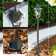 Stehlampe Wege Lampe Glas Garten Aluminium Aussen Steh Leuchte Laterne Terrasse