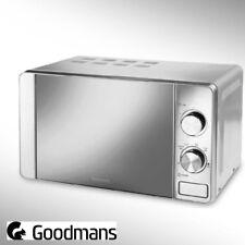 Goodmans Stainless Steel Microwave - 700W - 17L - 6 settings - Mirrored Door