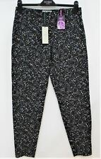 HOBBS Ladies Multi Navy Blue Wool Blend Dalmore Jodpur Trousers Size UK6 BNWT