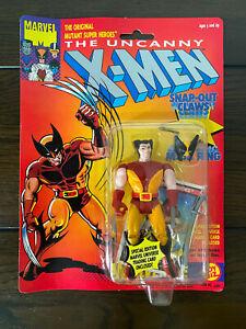 VINTAGE 1991 The Uncanny X-Men Brown Suit Wolverine MOC action figure ToyBiz