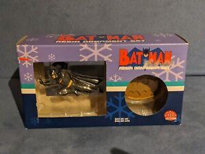 2001 Batman resin ORNAMENTS BOXED SET DC DIRECT NEW