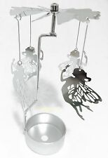 Puckator Fairy Tealight Powered Metal Spinning Decoration SPIN06