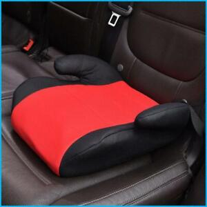 Portable Children Safety Car Booster Seats Harness Kids Baby Breathable Knitted