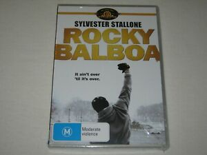 Rocky Balboa - Sylvester Stallone - Brand New & Sealed - Region 4 - DVD