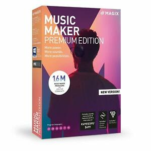Software Music Maker Premium Edition NEU/OVP