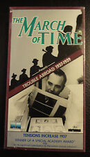 (1759) The March of Time - Trouble Abroad - Tensions Increase 1937 (VHS) NEW