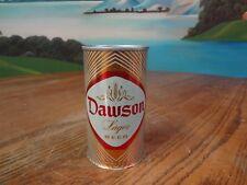 DAWSON LAGER BEER 12 OZ. STRAIGHT STEEL BEER CAN. HAMMONTON, NEW JERSEY