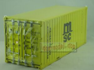 1/20 MSC shipping Container model