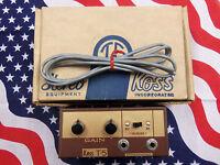 Koss T-5 Junction Box Vintage Stereophone Jack Gain Control Unit