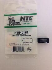 NTE NTE4011B IC-CMOS, Quad 2-Input NAND Gate