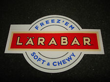 1 AUTHENTIC LARABAR FREEZ'EM SOFT & CHEWY STICKER #4 DECAL ENERGY BAR AUFKLEBER
