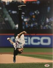 Laurie Hernandez Signed Autographed 11x14 Photo Olympic Dancing Mets Psa/dna