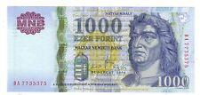Hungary Ungheria 1000 fiorini  2008   FDS UNC    pick 195d  lotto 4017