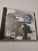Tom Clancy's Ghost Recon (PC, 2001) Classic Pc Game Jewel Case w/ manual
