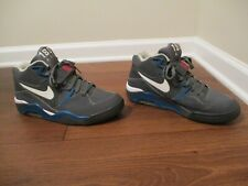 Used Worn Size 10.5 Nike Air Force 180 Shoes Dark Gray, Blue, White, Vivid Pink