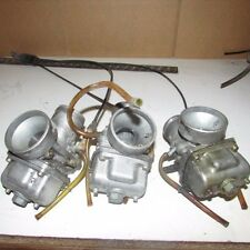 1996 POLARIS XLT SNOWMOBILE CARB CARBURETOR CARBS TRIPLE ASSEMBLY