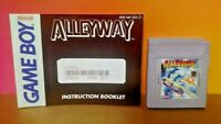 Alleway w/ Manual Booklet  Nintendo Game Boy Color GB TESTED GBA Advance GBC