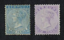 CKStamps: GB Bermuda Stamps Collection Scott#2 5 Unused NG