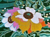 SALE! 60's Posh Mid Century GLAM Barkcloth Era Vintage Fabric Yardage Schumacher