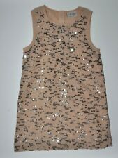 Next Girl Gorgeous Nude Sequin Detailed Dress 5 Years Party Occasional