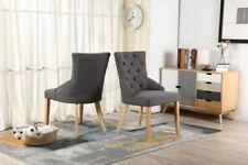 2 Chaises gris contemporains pour la maison