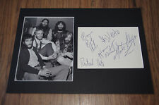 CANNED HEAT Bob Hite signed 8x12 inch autograph matted InPerson RARE