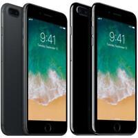 Apple iPhone 7 Plus - Black / Jet Black - 32GB 128GB 256GB - Unlocked Smartphone