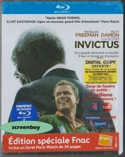 """INVICTUS - UNBEZWUNGEN"" - Clint Eastwood - Matt Damon - BLU RAY STEELBOOK OVP"