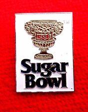 1986 Sugar Bowl Trophy Lapel Pin NCAA Football gmu1