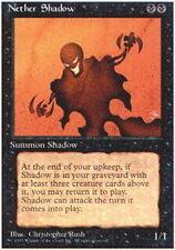 Alternate Fourth Edition (wax back) Nether Shadow x1 Moderate Play, English Magi