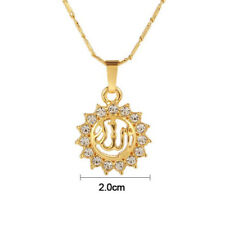 50CM Fashion Arabic Muslim Women Islamic God Allah Pendant Necklace Jewelry