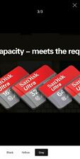 SANDISK 32gb Speed up to 80MB/s sd card
