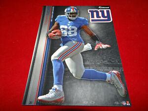 "HAKEEM NICKS 2013 NFL FATHEAD TRADEABLES 5"" x 7"" NEW YORK GIANTS - #31"