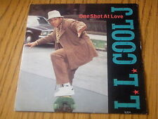 "L l Cool J-One Shot De Amor 7"" Vinilo PS"