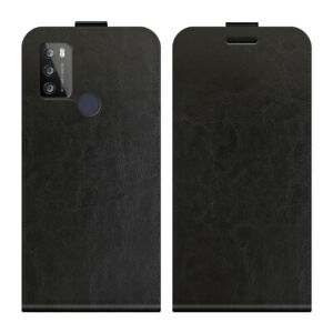 """For ZTE Blade A7s 2020 6.5"""" Magnetic Vertical UP down Flip Leather phone Case"""