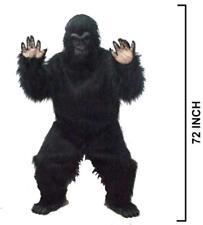 new ADULT SIZE COMPLETE EXPERT GORILLA / MONKEY SUIT mens womens costumes new