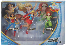 "DC SUPER HERO GIRLS ""Triple Team Collection"" (Wonder Woman/Supergirl/Poison Ivy)"