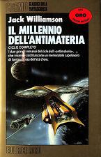 """[793] COSMO ORO ed. Nord 1990 n.  115 Williamson """"Il millennio dell'antimateria"""""""