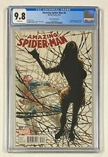 AMAZING SPIDER-MAN #4 Marvel Comics 2014 CGC 9.8 Cindy Moon becomes Silk