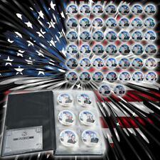 Silver Coins Set Album US Presidents Collection High Luxury Gift free shipping