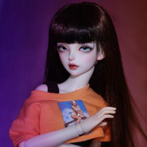 "1/4 Handmade Resin BJD MSD Lifelike Doll Joint Dolls Girl Gift Minifee Yaxi 16"""